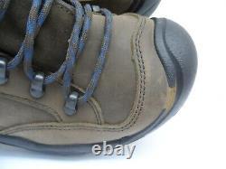 Keen MEN'S BRADDOCK AL WATERPROOF MID STEEL TOE Work Boot BISON/ENSIGN BLUE 7.5M