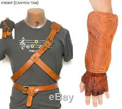 Legend of Zelda Link Leather Belts, Bracer, Bags & Gloves Twilight Princess