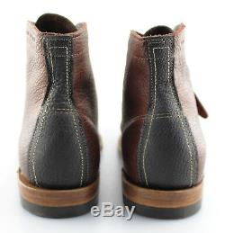 Men's WOLVERINE'1000 Mile' Bison Brown Two-tone Leather Boots Size US 11.5 D