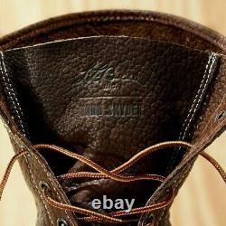 Mens L. L. Bean x Todd Snyder Bean Boots Chocolate Bison Leather (Size 10)