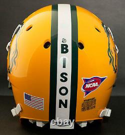 NORTH DAKOTA STATE BISON NCAA Schutt Full Size GAMEDAY Replica Football Helmet