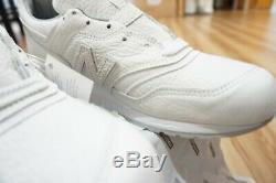 New Balance 997 BSN Bison Leather'White' M997BSN 997BSN 10.5 US Made in USA