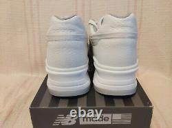 New Balance 997 M997BSN Made in USA Bison Buffalo Leather White Men Shoe Size 8