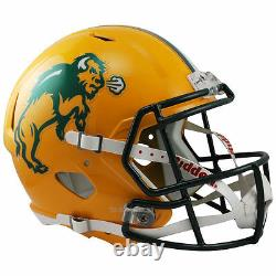 North Dakota State Bison Riddell Speed Full Size Replica Football Helmet