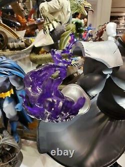 PCS Pop Culture Shock Street Fighter M. Bison 1/4 Scale Statue. Player 2 black