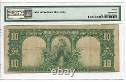 PMG VF 20 1901 $10 LEGAL TENDER BISON Fr# 121 MULE