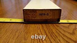 Parker Frost Schrade USA 1978-2 BISON Green Jigged Bone Stockman Pocket Knife