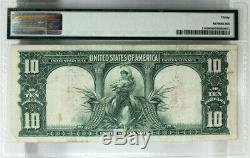 Pmg Very Fine 30 1901 Bison $10 Legal Tender United States Note Fr. 114 Vf30