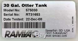 RAMVAC 30 Gal. Otter Tank Model # 575030 For Bison Or Bulldog Dental Dry Vacuum