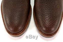 RANCOURT & CO Camden 12 D Chocolate Bison Leather USA Derby Shoes VERY RARE