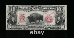 SC 1901 $10 Bison Legal Tender GORGEOUS
