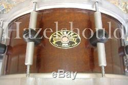 SOUNDFILE! UNIQUE BISON 6.5X14 NGU ROCK SNARE with MAGNESIUM HARDWARE EXCD CLEAN