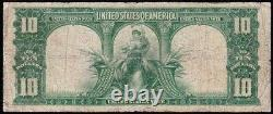 Scarce 1901 $10 BISON Legal Tender US Note! FREE SHIPPING! E9988479