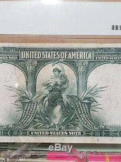 Series 1901 $10 Legal Tender Bison Note PMG 30 Very Fine FR122 New Holder