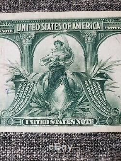 Series 1901 $10 Legal Tender Bison Note VF+ FR122 Speelman/White Great Color
