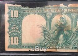 Series of 1901 $10 Bison United States Note Red Seal Ungraded NH