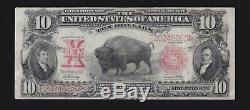 US $10 1901 Bison Legal Tender Mule FR 121m VF (-260)