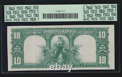 US 1901 $10 Bison Legal Tender FR 122 PCGS 40 XF (327)