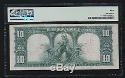 US 1901 $10 Bison Legal Tender FR 122 PMG 30 Ch VF (116)