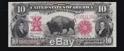 US 1901 $10 Bison Legal Tender FR 122 VF-XF (-116)
