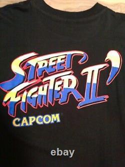 Vintage 90s Street Fighter 2 Shirt Size XL Capcom Ryu Bison