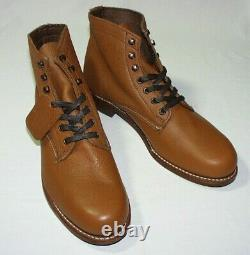 Wolverine 1000 Mile Centennial Boots, Bison Leather Upper, Brown or Tan, New