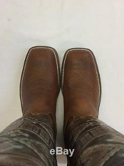 Women's Anderson Bean Custom Santa Fe Stovepipe Boots, Style 2725A